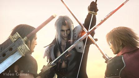 Angeal, Sephiroth, Genesis